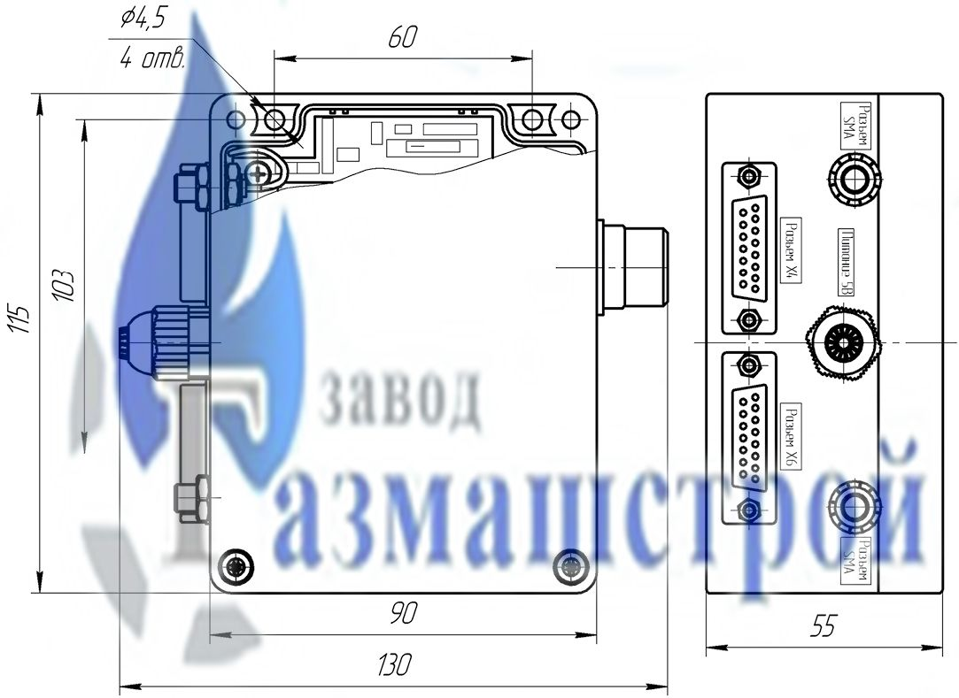 Контроллер телеметрический ССофт:Сигнал v.Standard